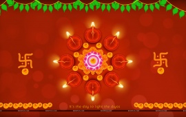 Diwali Lights Decoration