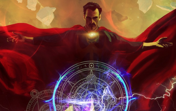 Doctor Strange Art (click to view)