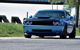 Dodge Challenger With Dual Oracle Halos