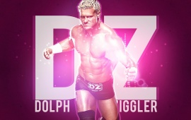 Dolph Ziggler Pink Background