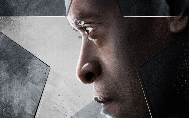 Don Cheadle As Rhodey Captain America Civil War (click to view)