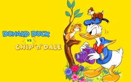 Donald Duck vs Chip N Dale