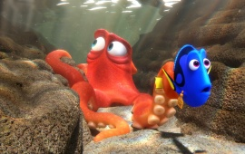 Dory And Hank In Finding Dory 2016
