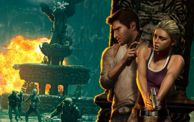 Drake And Elena Uncharted Drake S Fortune Wallpapers