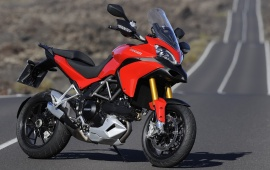 Ducati Multistrada 1200 With Road