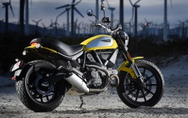 Ducati Scrambler Icon Test