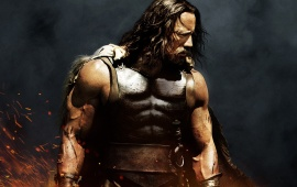 Dwayne Johnson Hercules 2014