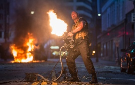 Dwayne Johnson In Furious 7 2015