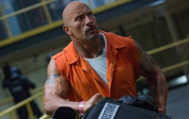 Dwayne Johnson In The Fate of the Furious 2017