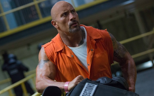 Dwayne Johnson In The Fate of the Furious 2017 (click to view)