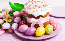 Easter Cake Decoration Eggs