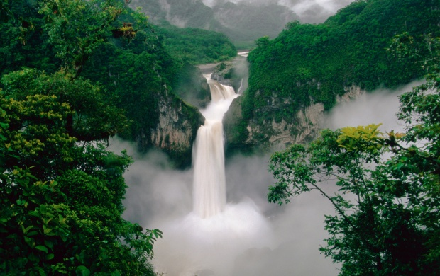 Ecuador Waterfall (click to view)