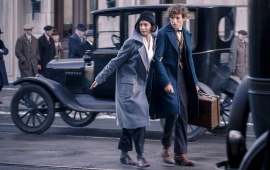 Eddie Redmayne And Katherine Fantastic Beasts 2016