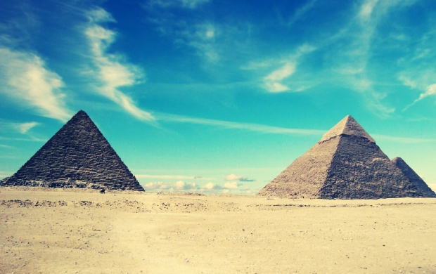 Egyptian Pyramids (click to view)
