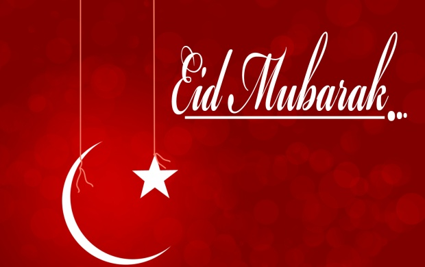 Eid Mubarak Red (click to view)