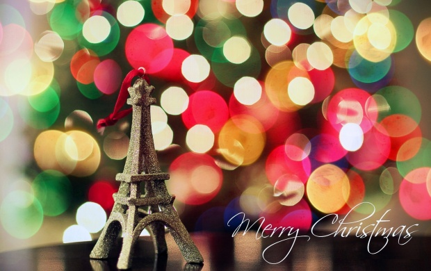 Eiffel Tower Christmas Lights (click to view)