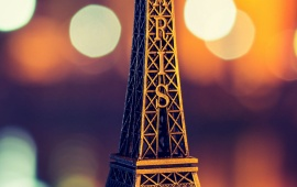 Eiffel Tower Paris Bokeh