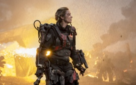 Emily Blunt Edge Of Tomorrow 2014