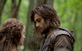 Emma Watson And Douglas Booth In Noah Stills