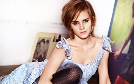 Emma Watson Beautiful Dress
