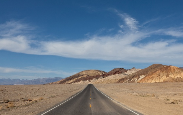 empty Desert Road (click to view)