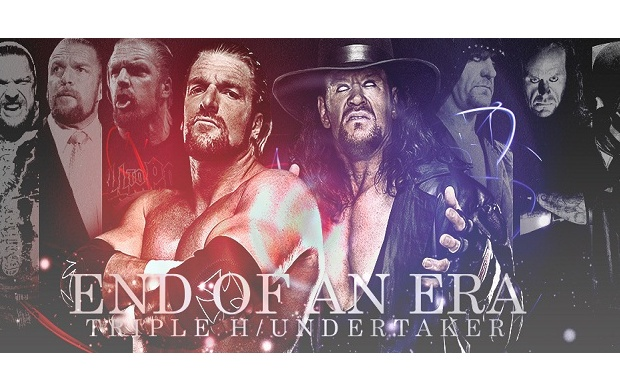 End Of An Era Triple H Undertaker (click to view)