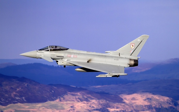 Eurofighter Typhoon Multipurpose Fighter (click to view)