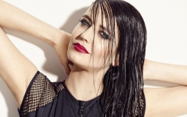 Eva Green Red Lips
