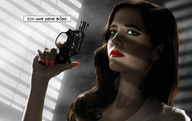 Eva Green Sin City Poster