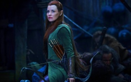 Evangeline Lilly In The Hobbit 2014