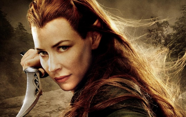 Evangeline Lilly The Hobbit: The Desolation Of Smaug (click to view)