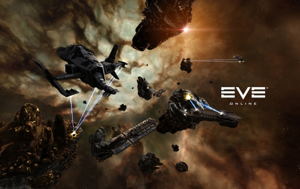 EVE Online Space War (click to view)