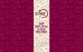 Every Empty Bottle Is Filled With Stories October