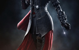 Evie Frye Black Assassin's Creed Syndicate