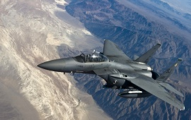 F-15E Strike Eagle Aircraft