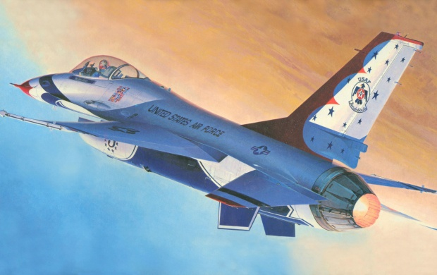 F-16 Fighting Falcon (click to view)