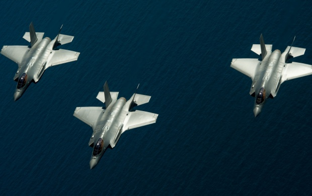 F-35 Lightning II Fighters (click to view)