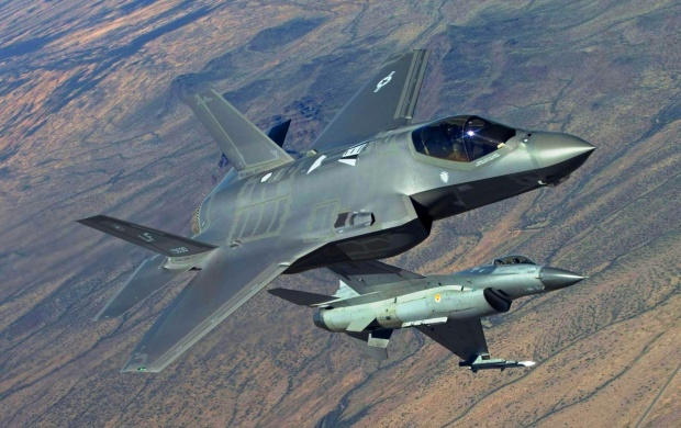 F-35 Lightning Ii Fighting Falcon (click to view)