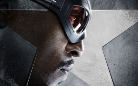 Falcon As Anthony Mackie Captain America Civil War