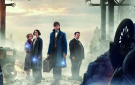 Fantastic Beasts And Where To Find Them 4K Poster
