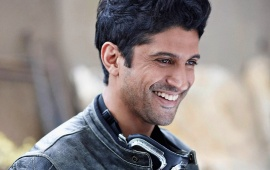 Farhan Akhtar In Black Jacket