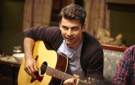 Fawad Khan Playing Guitar In Kapoor And Sons