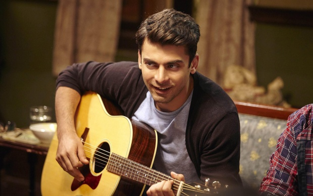 Fawad Khan Playing Guitar In Kapoor And Sons (click to view)