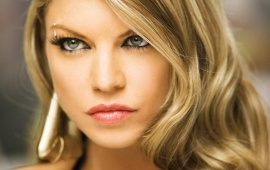 Fergie Close Up