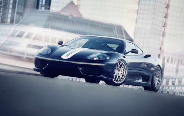 Ferrari 360 Challenge Stradale Close-Up (click to view)