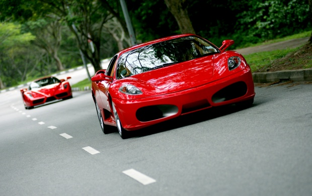 Ferrari Enzo F430 (click to view)