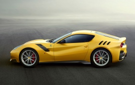 Ferrari F12tdf 2016 Side View
