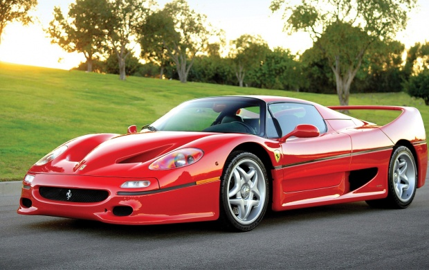 Ferrari F50 Show Car 1995 (click to view)