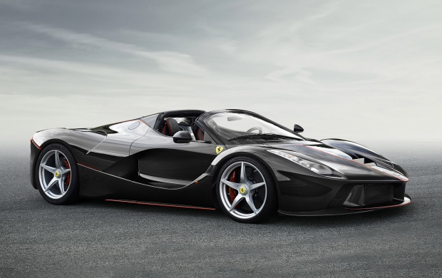 7432 Views Ferrari LaFerrari Aperta 2017