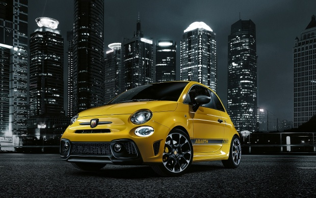 fiat abarth 595 competizione 2017 wallpapers. Black Bedroom Furniture Sets. Home Design Ideas